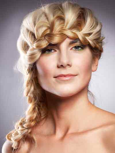 Braided Updos for Long Hair: Prom Hairstyles