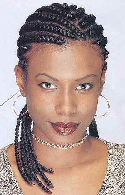 African Braids Hairstyles for Women  Pictures of Braid