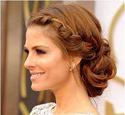 Romantic-Low-Braided-Side-Bun-Hairstyle