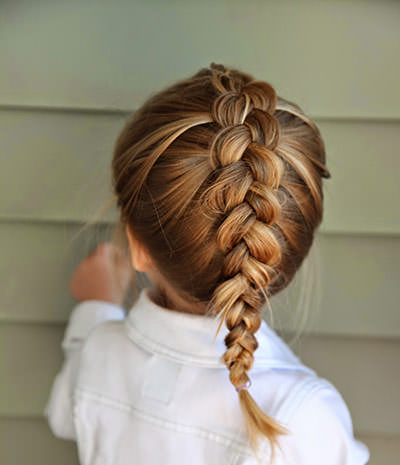 5 Braided Hairstyles For Kids With Curly Hair